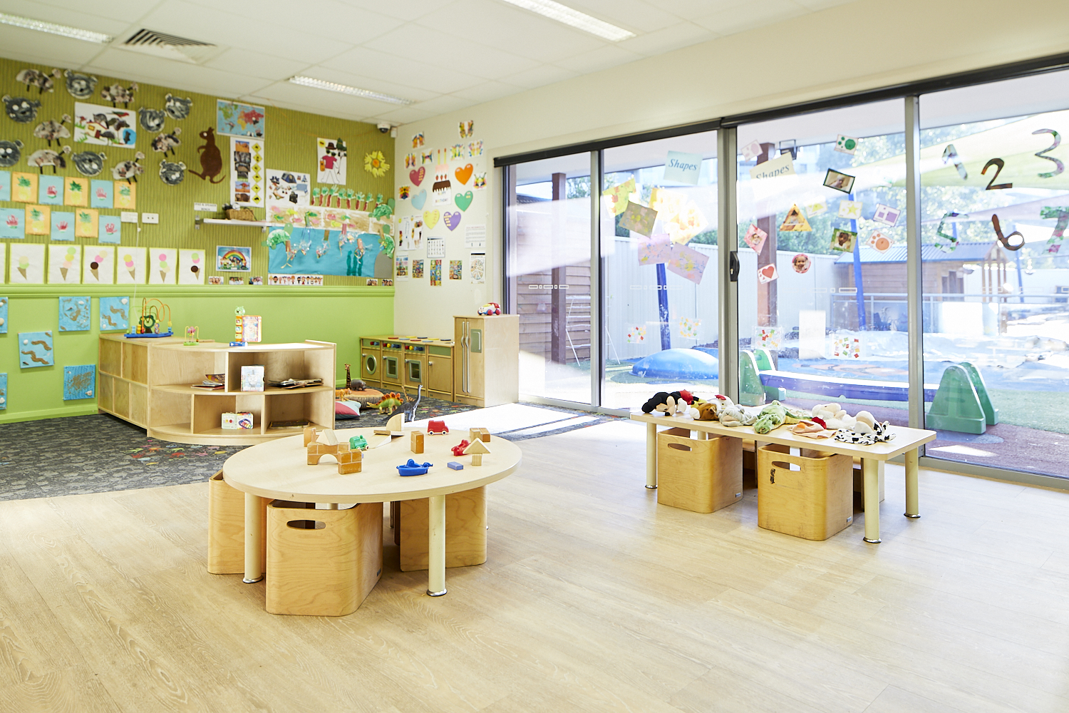 Preschool child care classroom at Papilio Epping